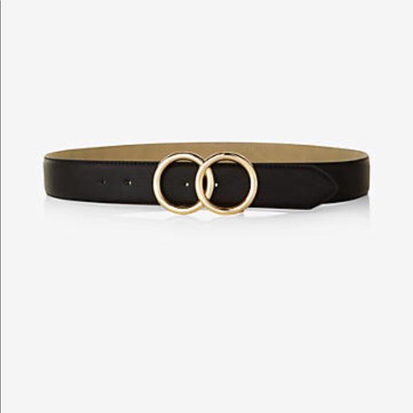 39f3a1754c9 Ellen Tracy Accessories - NWOT Ellen Tracy Double O Ring Belt in Black